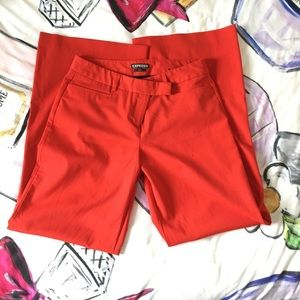 Express Editor Red Pants